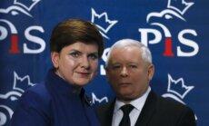 Gaidāmas būtiskas pārmaiņas Polijas valdībā