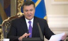 Janukovičs pametis Ukrainu bailēs par drošību; sola atgriezties