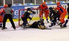 Foto: 'Kurbads' nesasniedz IIHF Kontinentālā kausa finālu