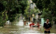 Plūdos Taizemes dienvidos miruši 12 cilvēki