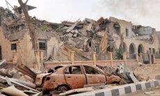 Karte: Sīrijas armija uzbrūk džihādistiem Abū Kemālā un pārņem robežpunktu