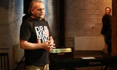 Foto: Laura Gundara grāmatas 'Dramatika' prezentācija