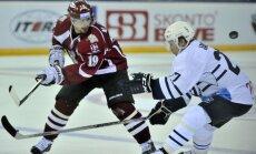 Rīgas 'Dinamo' pēcspēles metienos tiek pie pirmās uzvaras 'Latvijas Dzelzceļa' kausā