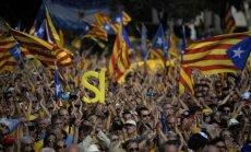 Spānijas Konstitucionālā tiesa atzīst Katalonijas simbolisko neatkarības balsojumu par nelikumīgu