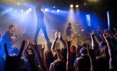 Foto: Portugāļu grupas 'Moonspell' koncerts 'Melnajā piektdienā'