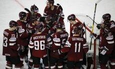 Paziņots Latvijas hokeja izlases provizoriskais pārbaudes spēļu kalendārs
