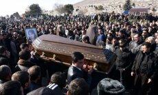 Miris Armēnijas slaktiņā ievainotais sešus mēnešus vecais zīdainis