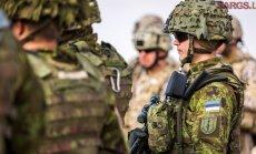 В Адажи проходят масштабные военные учения НАТО