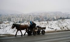 Bulgārijas galvaspilsēta grib aizliegt zirgu ratus