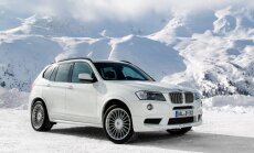 'Alpina' pārveidotais 'BMW X3' ar 350 ZS dīzeļdzinēju
