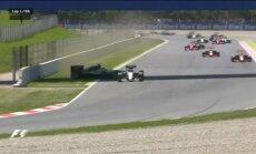 Hamiltons: Spānijas 'Grand Prix' avārijas apspriešana komandā bija 'skarba'
