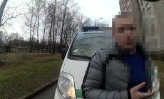 Video: Brīvdienās Rīgas pašvaldības policisti pieķer četrus dzērājšoferus