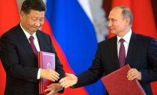 Krievija un Ķīna mēģināšot apturēt Ziemeļkorejas kodolieroču programmu