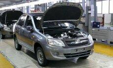 Krievijas autoleģendas 'VAZ' ražotāji atlaidīs 7,5 tūkstošus strādājošo
