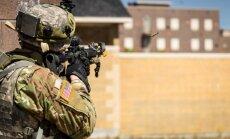 Foto: Latvijas karavīri ASV piedalās mācībās 'Northern Strike'