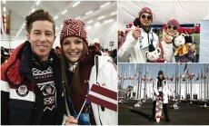 Privāti kadri: Kā Latvijas olimpiešiem klājas Phjončhanā