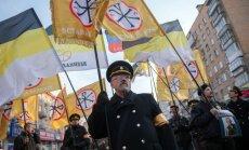 Maskavas ielās maršē tūkstošiem neonacistu; pieprasa atzīt 'Jaunkrieviju'
