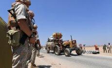 Krievija atsāk Turku atbalstītās Sīrijas opozīcijas bombardēšanu Idlibā