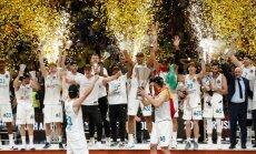 Madrides 'Real' basketbolisti desmito reizi triumfē Eirolīgā