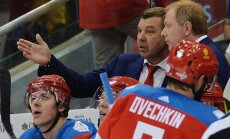 The Russian team s head coach Oleg Znarok