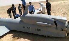 Irākas tuksnesī nogāzies 20 miljonus eiro vērts ASV drons