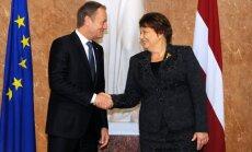 Tusks: Latvijas prezidentūra ES bija panākumiem bagāta visos aspektos
