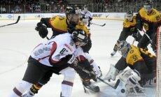 Latvijai lieliska uzvara pēdējā mājas spēlē pirms PČ