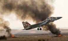 Sīrija apsūdz Izraēlu par raķešu uzbrukumu armijas lidostai pie Damaskas