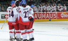 Čehijas hokeja izlasei pasaules čempionātā nāksies iztikt bez Klepiša