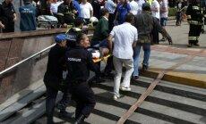 Traģēdijā Maskavas metro nav vainojami teroristi, norāda izmeklētāji