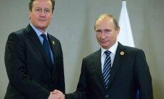Кэмерон и Путин договорились совместно бороться с ИГ