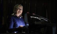 Klintone oficiāli paziņo par nodomu kandidēt ASV prezidenta vēlēšanās