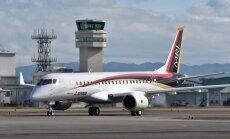 Самолет Mitsubishi совершил первый тестовый полет из Японии в США