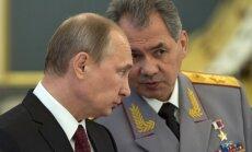 Ir 'nepārprotami' pierādījumi par Šoigu saistību ar bruņojuma nodošanu kaujiniekiem, paziņo Kijeva
