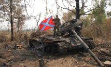 Ukrainas separātisti paziņo par apvienotās Jaunkrievijas armijas izveidošanu
