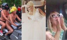Nedēļas trakumi: Babkinas kāzas, plikie Ventspilī un Šomases vieglprātība