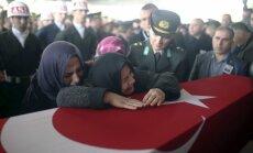 Turcijas militārajā operācijā Sīrijā kritušo karavīru skaits sasniedzis 31