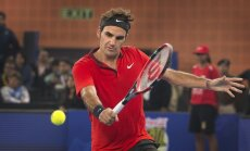 Federera un Samprasa komanda uzvar pirmajā tenisa premjerlīgas turnīrā