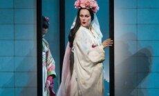 Rīgā rādīs 'Metropolitan' iestudējumu 'Madama Butterfly' ar Kristīni Opolais galvenajā lomā