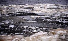 Upēs galvenokārt turpinās ūdens līmeņa kritums