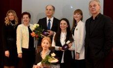 Foto: Pasniegtas ikgadējās Teātra dienas balvas
