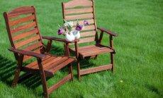 No izveides līdz kopšanai – padomu vācelīte dārza mēbelēm