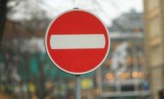 Trudo vizītes laikā vairākās Rīgas ielās ierobežos satiksmi