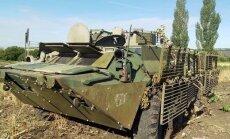 Nacionālās gvardes karavīri sagrābuši Krievijas bruņutransportieri