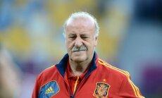Del Boske pametis Spānijas izlases galvenā trenera krēslu