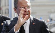 Lavrovs aicina glābt ASV un Krievijas vienošanos par pamieru Sīrijā