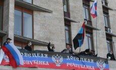 Doņeckas separātistu izveidotajā 'valdībā' iekļuvušas Janukoviča Reģionu partijai pietuvinātas personas