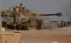 Sīrijas konfliktā piecos gados nogalināti vairāk nekā 330 000 cilvēki