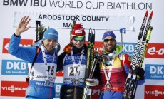 World Cup Biathlon, Johannes Thingnes Boe, Anton Shipulin, Martin Fourcade