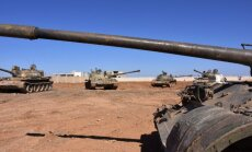 Karte: Sīrijas armija pēc sadursmēm turkiem nogriež ceļu uz Raku